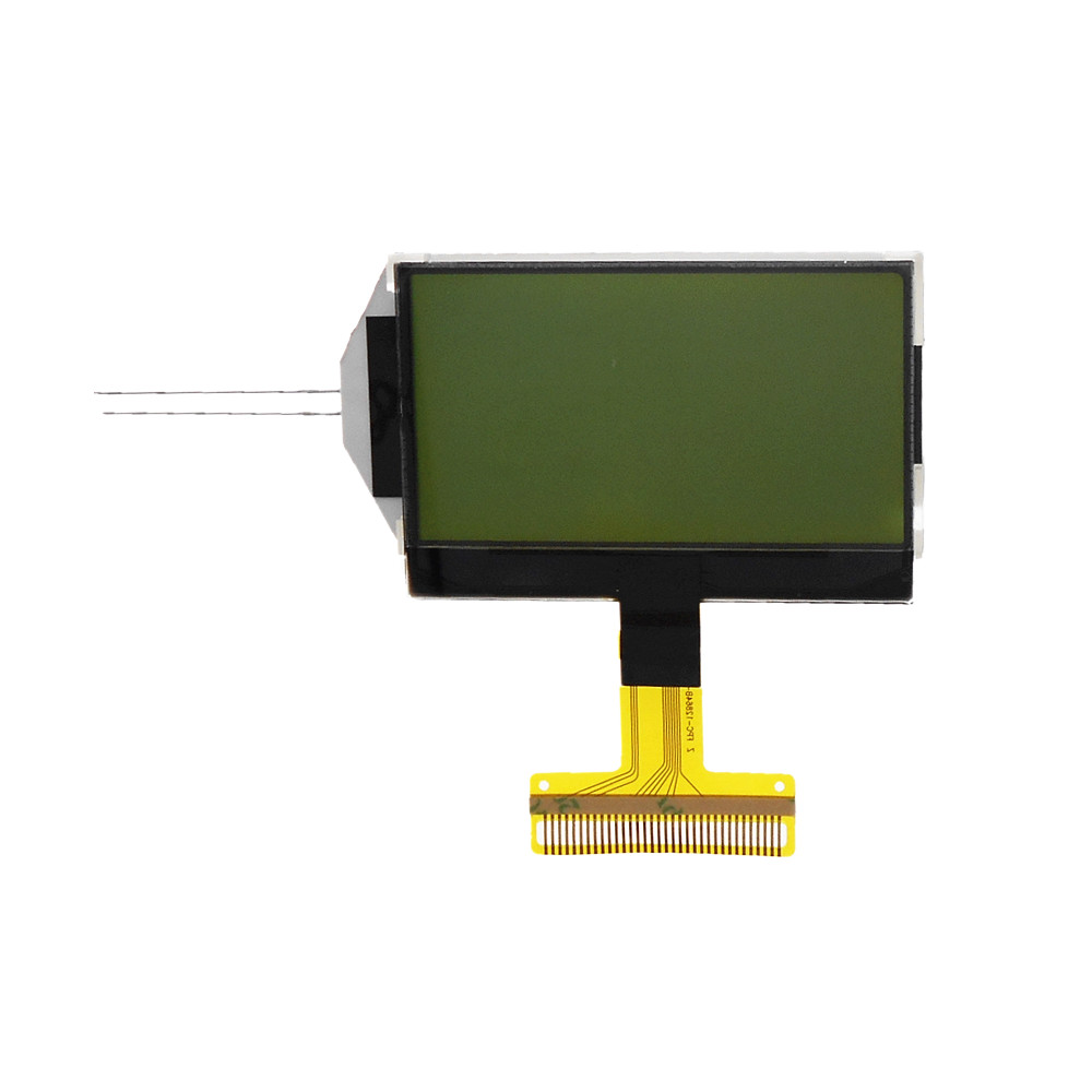 12864B Dot Matrix LCD Display 0.8mm Welded Type Display With Backlight Size 57×39mm 128 * 64 LCD Screen