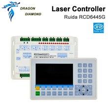 DSP CO2 sterownik laserowy systemowy Ruida RDC6445G grawer laserowy do Co2 maszyna do laserowego cięcia i grawerowania aktualizacji RDC6442 RDC6442G