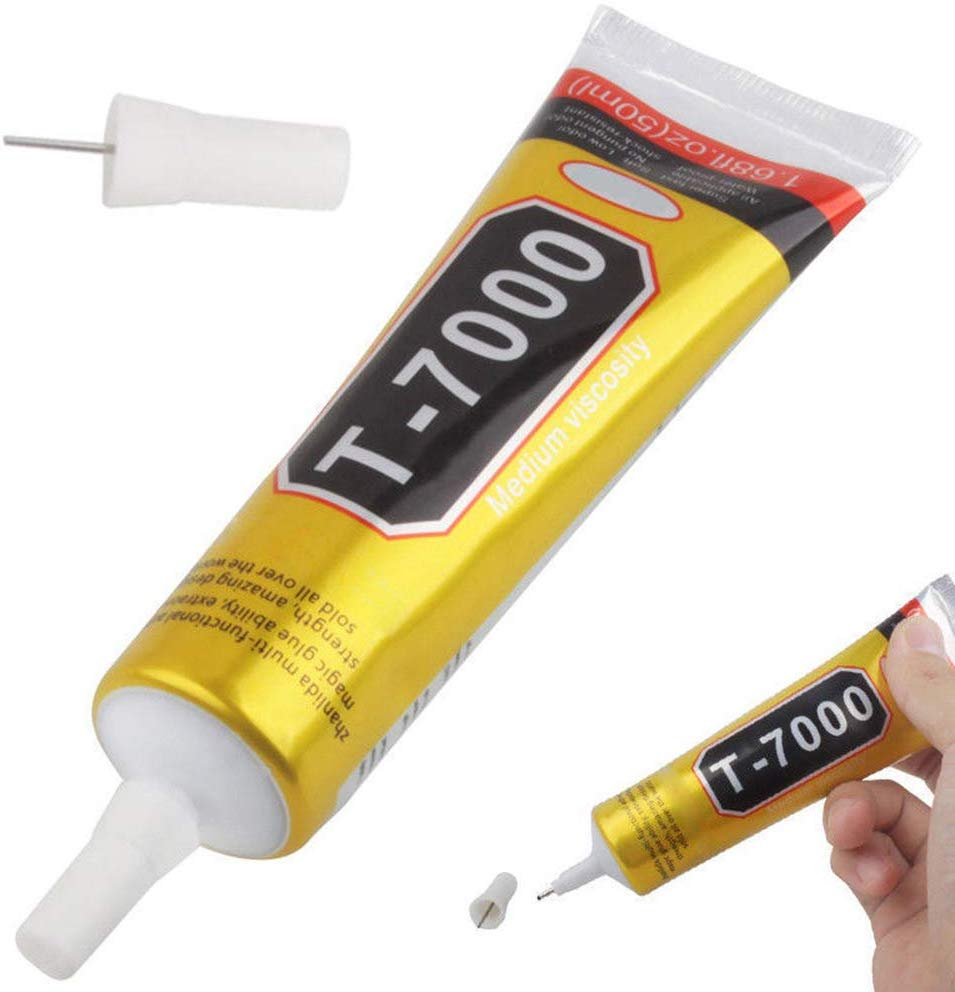 <font><b>T7000</b></font> <font><b>110ML</b></font> Glues Multipurpose Adhesives Super Glues T-7000 Black Liquid Epoxy Glues For DIY Crafts Glass Phone Case Metal image