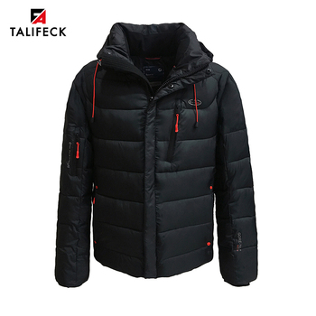 2020 New Men Winter Jacket Casual Cotton Warm Winter Coat Men Thick Padded Jacket Parka Homme Outwear Black Winter Jackets Mens цена 2017