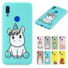 Unicorn Owl Panda Cat Painted TPU Cover For Xiaomi F1 Redmi Note 7 6 5 Pro K20 7A 6A Funny Cartoon Phone Case