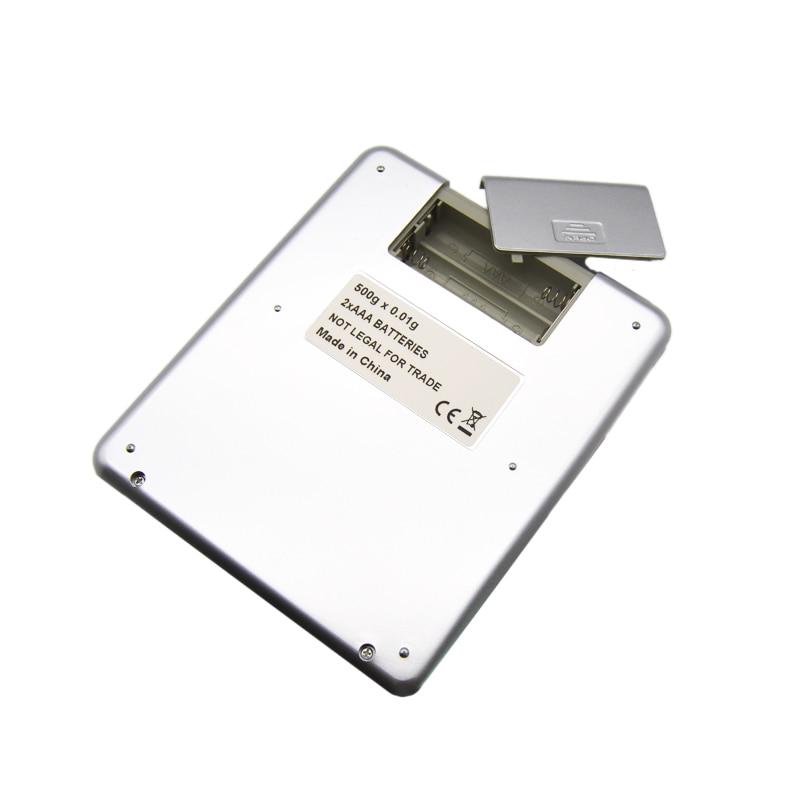 Кухонные электронные весы, Портативные карманные электронные весы, измеритель веса для кухни, с ЖК дисплеем-4