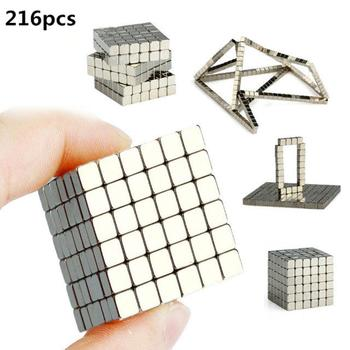 GloryStar Magic Magnet Magnetic Blocks Balls NEO Sphere Cube Beads Building Puzzle Toy