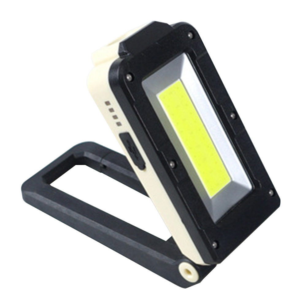 Magnetic Site Light Repair USB Adjustable Brightness With Hook Mini Folding Working Rechargeable Outdoor Led Industrial