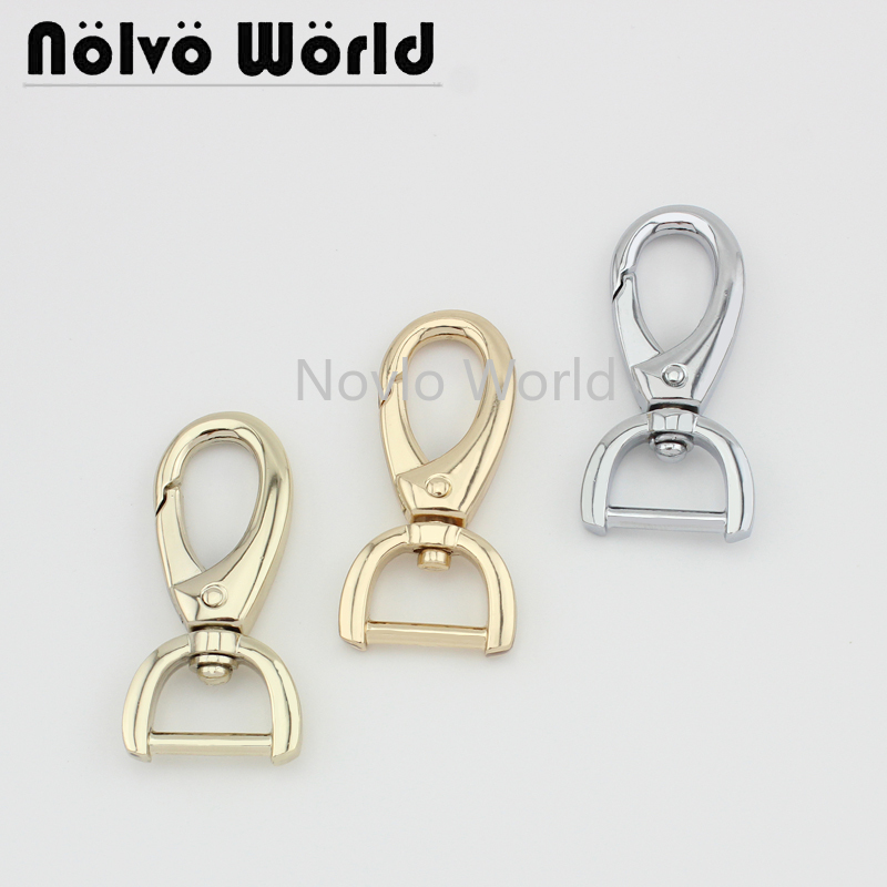 4 Pieces Test,5 Colors,49.5*16mm, Small Quantity Metal Strap Buckle For Bag Dog Collar Lobster Clasp Swivel Snap Hook Accessory