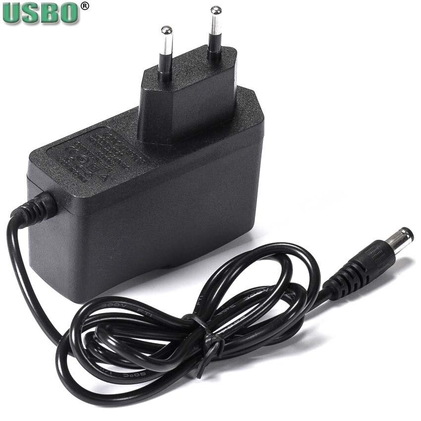 3V 5V 6V 7,5 V 7V 9V 10V 12V US EU dc adaptador de fuente de alimentación de corriente 0,5 a 1,5 a 2A 5,5x2,5mm 1m, cargador de cable de alimentación para lámpara LED de batería| |   - AliExpress