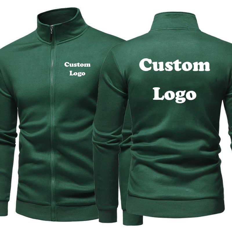 2020 nowych mężczyzna Custom Made Logo kurtki styl Torque Collar płaszcz z klapami Vintage oryginalny kolor płaszcz polarowy kurtki Dropshipping