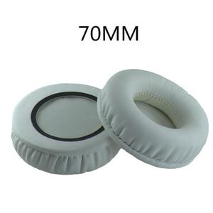 Image 3 - ペア70ミリメートル耳クッション交換イヤーパッド耳カップソニーMDR V150 V250 V300 V100 V200 V400 DR BT101 ZX100 ZX300ヘッドフォン