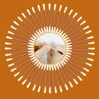 10-30-50-100Pcs Jod Baumwolle Sticks Tupfer Sterilisation Und Desinfektion Für Notfall Wunde Treament First Aid Kit Liefert