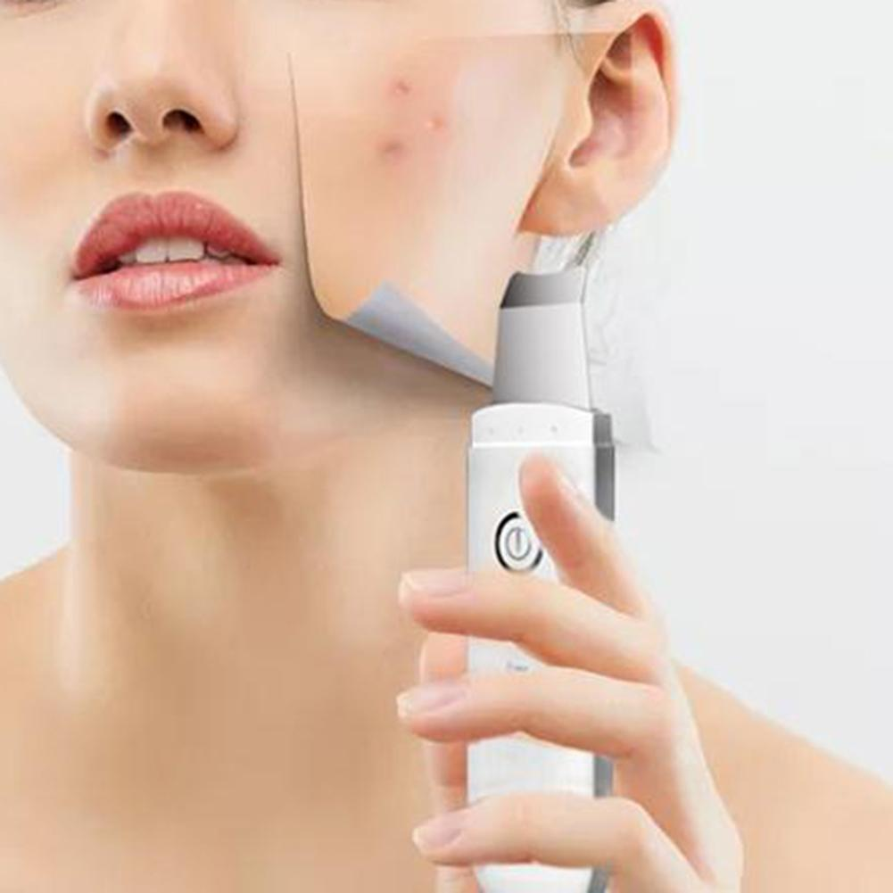 Electric Ultrasonic Face Nose Acne Black Dot Pimple Blackhead Remover Vacuum Face Pore Cleasning Skin Care Machine