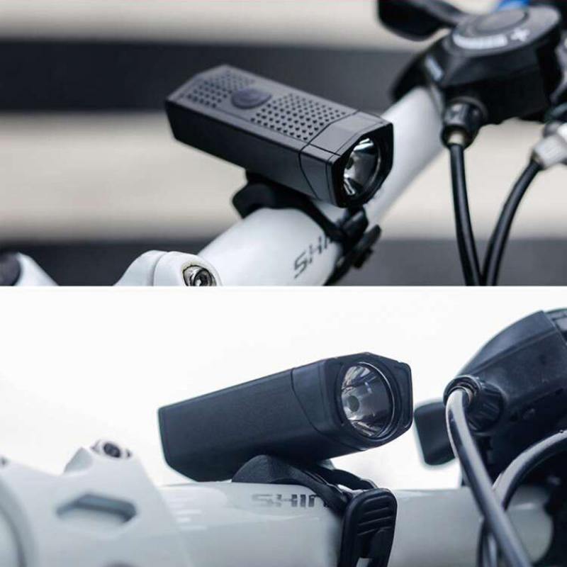 NQY Real Test 350 Lumens 3535 Lamp Beads USB Charging Battery Display Professional Bicycle Headlights