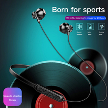 Wireless Bluetooth Earphone Stereo Sports Handsfree Earbuds In-ear Headset With Microphone For iPhone Samsung Xiaomi Huawei стоимость
