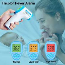 24H Ship Non-Contact Digital Laser Infrared Thermometer Forehead Gun with 3 Function 32 Group Data Memory for Baby