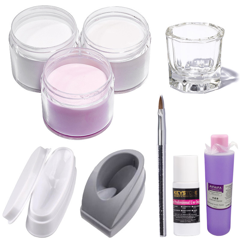 10Ml Nails Acrylic Dipping Powder Clear/Pink/White 3 Colors MSDS Acrylic Resin Nail Powder NAIL ART GLITTER ACRYLIC POWDER,KJ988
