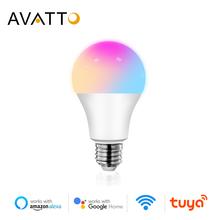 AVATTO Tuya 12W 15W WiFi Smart Glühbirne e27 RGB LED Lampe Dimmbar mit Smart Leben APP Voice Control für Google Hause Alexa cheap CN (Herkunft) ROHS 2700K ~ 6500K WB01 2835 Bedroom 90-250V 1000-1999 lumen Globus 50000H LED-Leuchten Luftblasen-Kugel-Birne