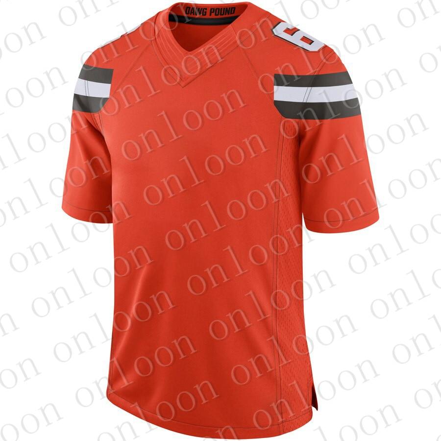 Game Mens 2020 American Football Cleveland Sport Fans Wear Odell Beckham Jr Baker Mayfield Jarvis Landry Clat Matthews Jerseys