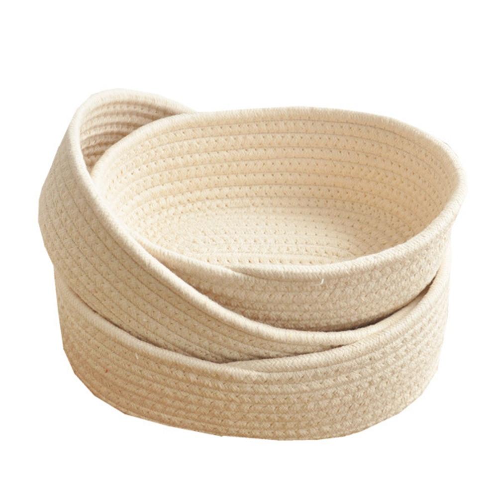 Многофункциональная Корзина для белья из мягкой моющейся хлопчатобумажной смеси