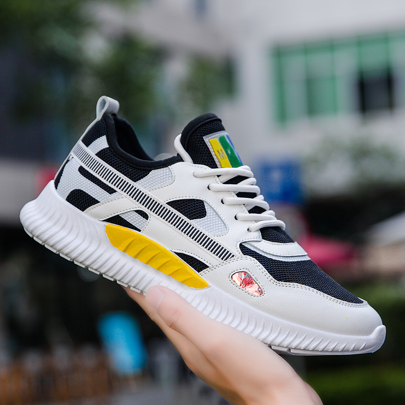 2020 Trend New Men Sports Shoes Comfortable Outdoor Non-slip Sneakers For Men High Quality Rubber Hard-Wearing Man Running Shoes