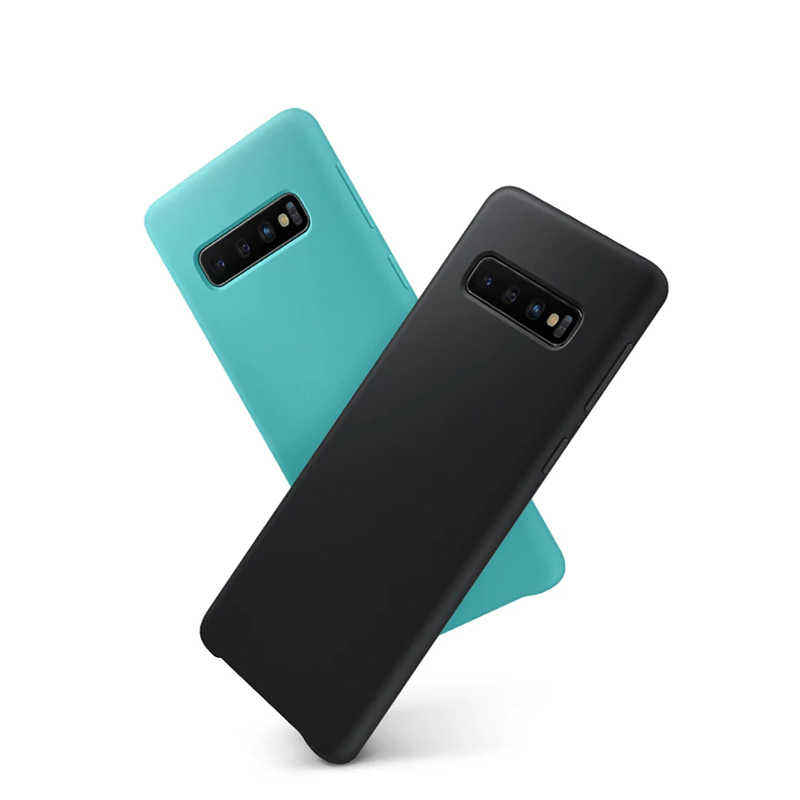 Do SAMSUNG S10 Plus skrzynki pokrywa silikonowa wersja strony internetowej do Samsung Galaxy S10 S10e Plus przypadku