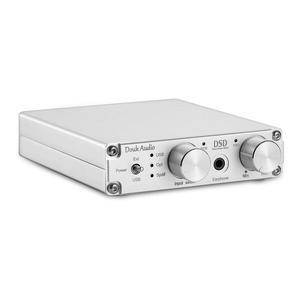 Image 2 - DOUK אודיו מיני XMOS XU208 USB DAC אודיו מפענח DSD256 HiFi אוזניות מגבר ממיר RCA PCM384K/32Bit