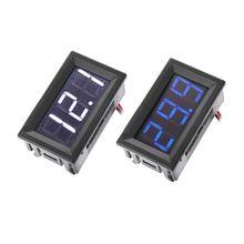 DC 5-120V Mini Digital Voltmeter LED Display Panel 2 Wire Volt Meter Voltage Test For 12V 24V 96V Motorcycle Car