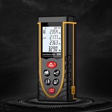 Range Finder Laser High-precision Infrared Distance Measuring Instrument Handheld Measuring Ruler Room Measuring Instrument handheld laser distance meter 100 meters infrared electronic ruler room measuring instrument