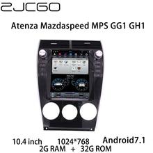 цена на Car Multimedia Player Stereo GPS DVD Radio Navigation NAVI Android Screen for Mazda 6 Mazda6 Atenza Mazdaspeed MPS GG1 GH1