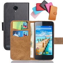 Fly IQ4417 Quad ERA Energy 3 Case 6 Colors Luxury Ultra-thin Leather Exclusive 100% Special Phone Cover Cases+Tracking