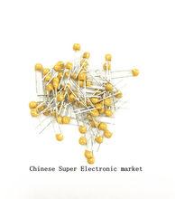 100 pces 100nf 0.1 uf 0.1 uf 104 50v 2.54mm dip mono capacitores monolíticos