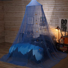 Lace Mosquito Net Round Dome Tents Baby Adults Bed Room Hanging Mosquito Net Baby Room Decor Ceiling Hanging Canopy(China)
