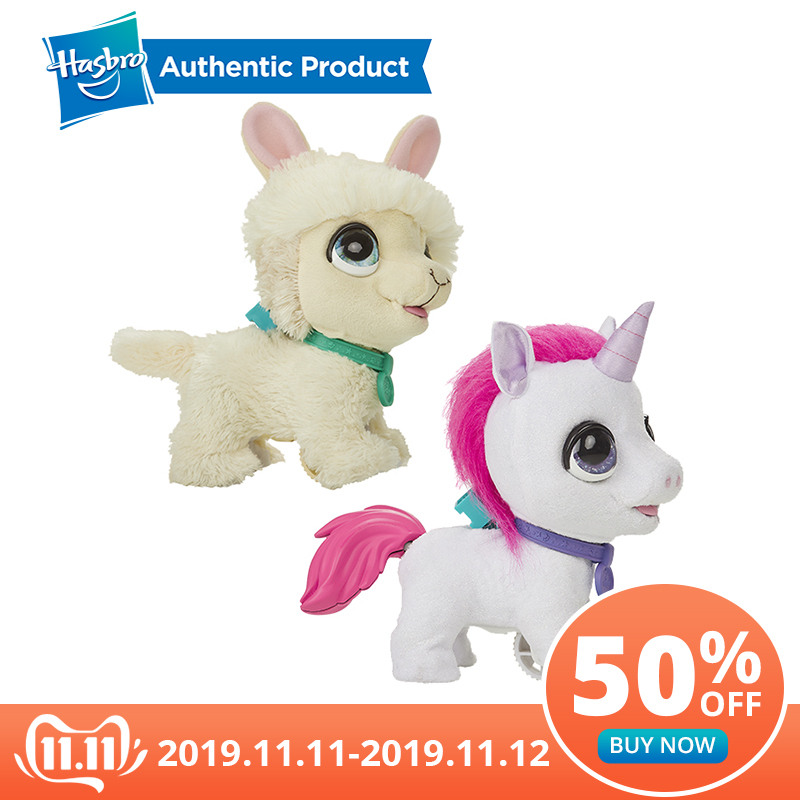 Hasbro FurReal Friends Walkalots Big Wags Unicorn CAT, Big Dog, Kitty, Lil' Wags Bunny, Walker Fur Pets Toys And Gifts For Kids