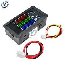 DC 0-100V 10A 1000W medidor de vatios Digital medidor de potencia DC Monitor de energía probador de corriente de voltaje de 8V 12V 24V LCD