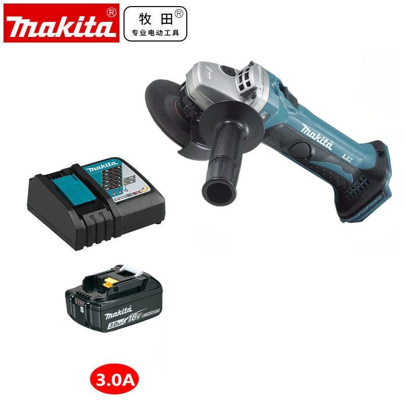 Makita  DGA402Z DGA402 DGA402SFJ DGA402RME Cordless Angle Grinder Wheel Diameter 100mm 4