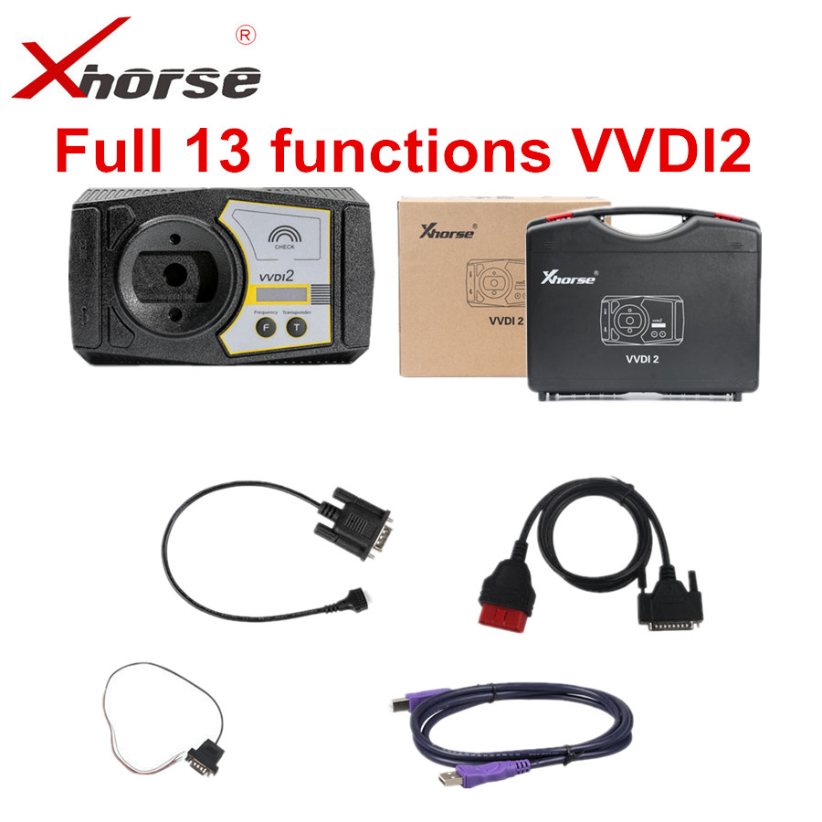 Original Xhorse VVDI2 Full 13 Functions Version V6.6.9 For V-W/Audi/BMW/Porsche/PSA For Buyers Who Have VVDI MB BGA Already