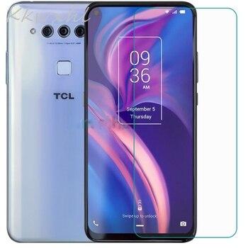 Перейти на Алиэкспресс и купить Закаленное стекло для смартфона 9H для TCL PLEX, защитная пленка для экрана TCL PLEX, защитный чехол
