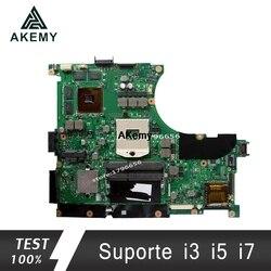 Akemy N56VZ/N56VM Laptop płyta główna For Asus N56VB N56VM N56VZ N56VJ N56V Test oryginalne płyty głównej płyta główna GT650M-2G wsparcie i3 i5 i7