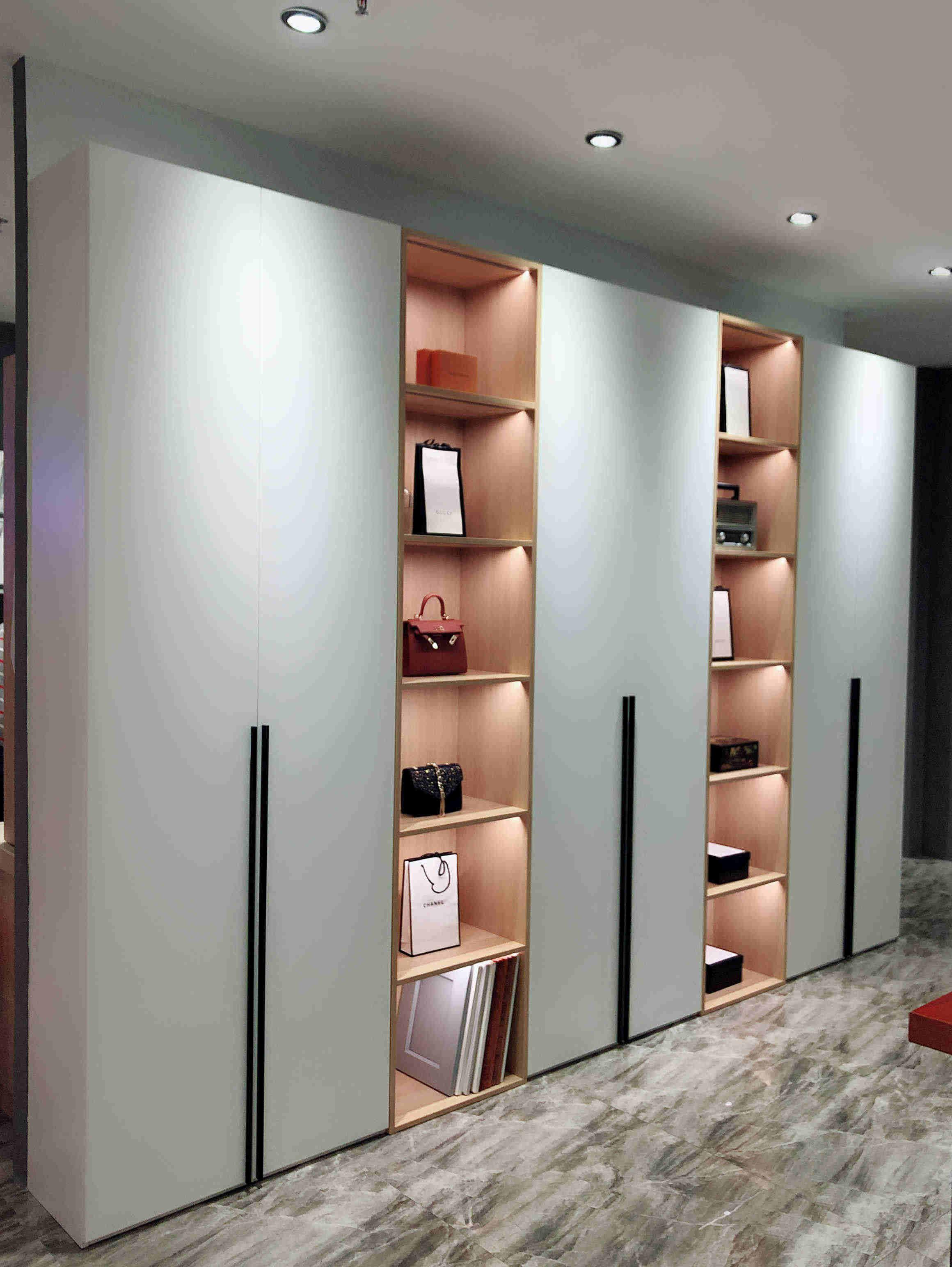 wall wardrobe hidden wardrobe living room wardrobe modern ...