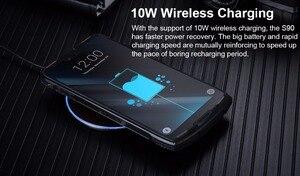 Image 4 - Doogee teléfono inteligente S90, teléfono móvil resistente IP68/IP69K, carga rápida, pantalla 19:9 de 6,18 pulgadas, batería de 5050mAh, Octa Core, 6GB RAM, 128GB rom, Android 8,1, soporta NFC