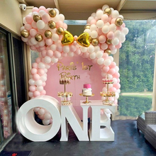 122pcs Balloon Garland Arch Kit Pink White Gold Blue Latex Balloons Supplies Baby Shower Birthday Party Wedding Decoration