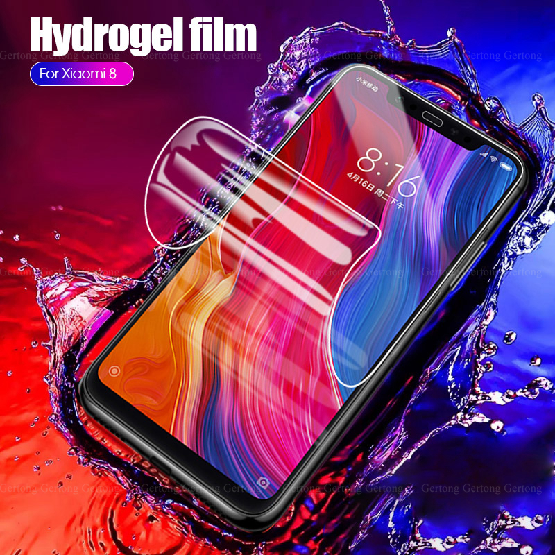 9D Soft <font><b>Hydrogel</b></font> Film For Xiaomi Mi 9x <font><b>8</b></font> 9 SE Premium Screen Protector for <font><b>Redmi</b></font> 7 7A K20Pro Note 6 7 <font><b>8</b></font> Pro Ultra-thin HD film image