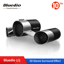 Bluedio US Wireless Home Audio Speaker System Patented 3 Drivers Bluetooth Loudspeaker Deep Bass 3D Sound Effect with Microphone