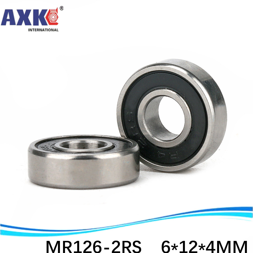 MR126 <font><b>MR126ZZ</b></font> MR126RS MR126-2RS SMR126ZZ SMR126-2RS ZZ RS RZ 2RZ Deep Groove Ball Bearings 6 x 12 x 4mm High Quality image