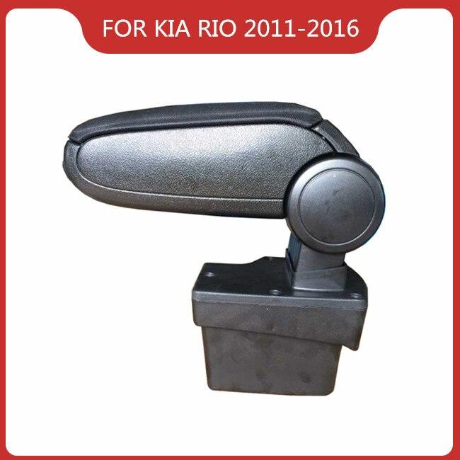 Купить подлокотник для kia rio k2 2011 2016 аксессуары салона автомобиля