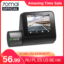 Car DVR Voice-Control Car-Dash-Camera Speed-Coordinates Wifi ADAS 24h Parking 70mai 1944P