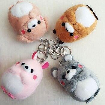 30pcs-lot 10cm Wholesale Dog Bear small Pendant Plush Toys key chain Rabbit Mouse Stuffed Animals Wedding Party Kids Xmas Gifts