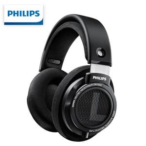 Philips SHP9500 проводные наушники HIFI шумоподавление с 3 М длинные наушники для xiaomi SamSung S8 MP3 официальный тест профессиональный