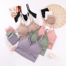 ATHVOTAR – ensemble de soutien-gorge et culotte en dentelle ajourée pour femmes, sous-vêtements Sexy, dos nu, rembourré sans fil, 2 pièces