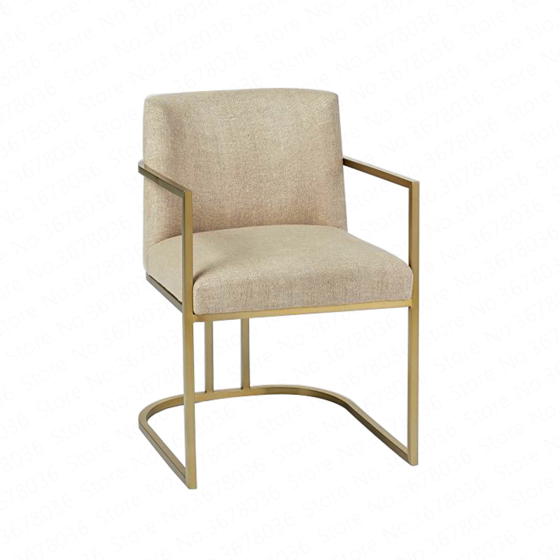 Dining Chair Personality Simple Modern Leisure Coffee Creative Designer Backrest Computer Lounge  Armchair  Lounge Chaise