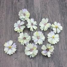 10pcs Artificial Flowers Multicolor Mini Silk Daisy Simulation Fake Flower Wedding Garland Restaurant Decoration
