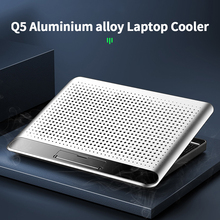 Ultralight Radiator Computer Accessories Laptop Cooling Pad Dual USB Port Low Noise Notebook Stand Universal Height Adjustable